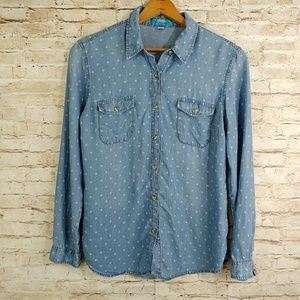 BUTTONS LYOCELL BUTTON DOWN SZ MD